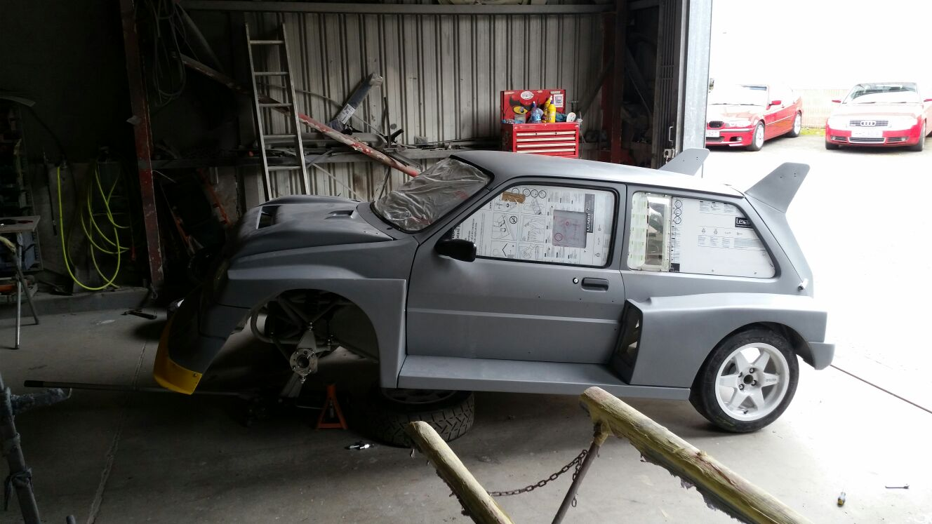 Brand new 6R4 Metro project for Momentum Motorsport