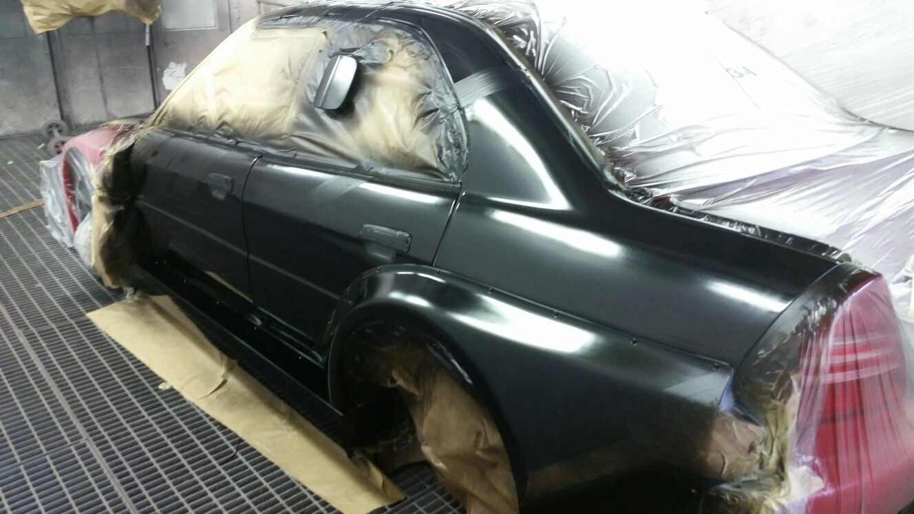 Evo 8 full weight stripdown raised suspensionpoints, LHD conversion