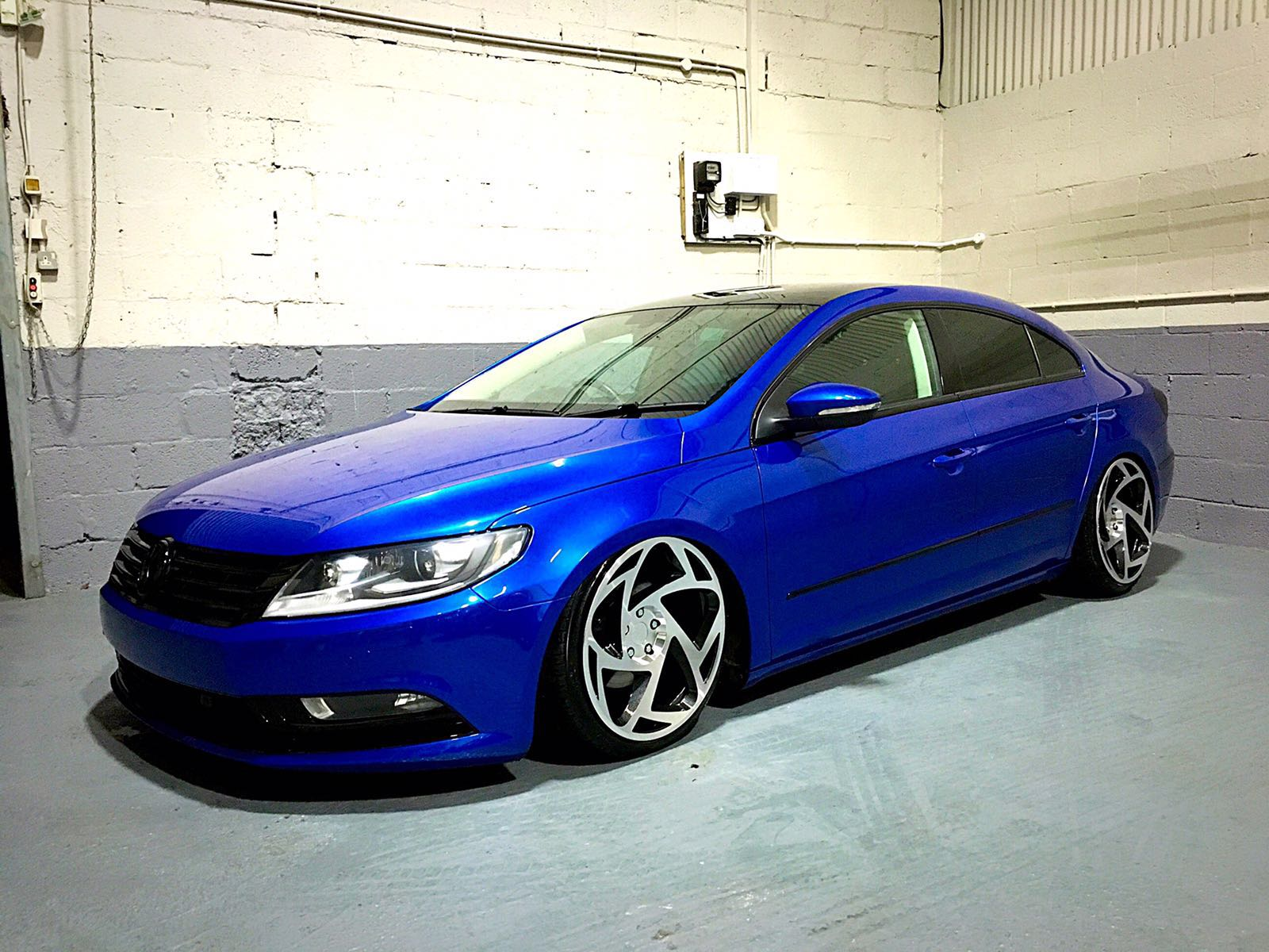 Vw Passat Cc Colour Change Kenny Wylie